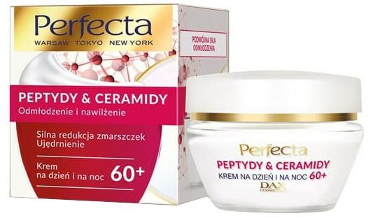 Cremă regenerantă pentru față 60+ - Perfecta Peptydy&Ceramidy — Imagine N1