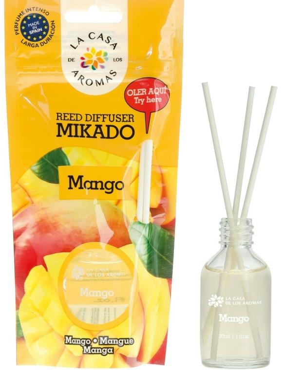 """Difuzor de aromă """"Mango"""" - La Casa de Los Aromas Mikado Reed Diffuser"""