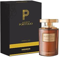 Parfumuri și produse cosmetice Al Haramain Portfolio Imperial Oud - Apă de parfum