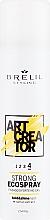 Parfumuri și produse cosmetice Spray pentru fixarea părului - Brelil Art Creator Strong Ecospray