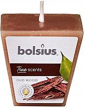 """Parfumuri și produse cosmetice Lumânare parfumată """"Arbore de agar"""", 47/47 mm - Bolsius True Scents Candle"""