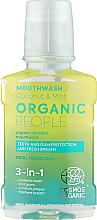 Parfumuri și produse cosmetice Agent 3 în 1 de clătire pentru cavitatea bucală - Organic People Coconut And Mint