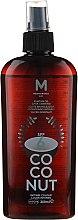 Parfumuri și produse cosmetice Ulei pentru brozat - Mediterraneo Sun Coconut Suntan Oil Dark Tanning SPF6