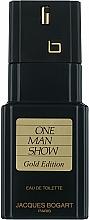 Bogart One Man Show Gold Edition - Apă de toaletă — Imagine N1