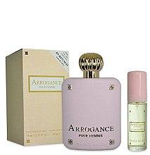Parfumuri și produse cosmetice Arrogance Pour Femme - Set (edt/75ml+edt/30ml)