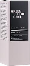 Parfumuri și produse cosmetice Tonic pentru față - Green + The Gent Face Tonic