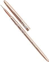 Parfumuri și produse cosmetice Pensulă pentru manichiură - Peggy Sage Nail Art Rose Gold 001