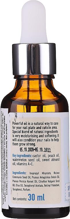 Ulei hidratant pentru cuticule și unghii - Eco U Cuticle & Nail Oil — Imagine N2