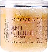 Parfumuri și produse cosmetice Peeling pentru corp - Sezmar Collection Professional Body Scrub Anti Cellulite With Pineapple