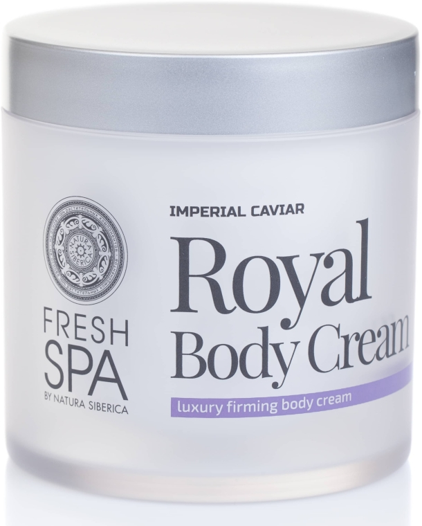 Cremă de corp - Natura Siberica Fresh Spa Imperial Caviar Royal Body Cream — Imagine N2