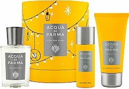 Parfumuri și produse cosmetice Acqua Di Parma Colonia Pura - Set (edc/100ml + sh/gel/75ml + deo/50ml)
