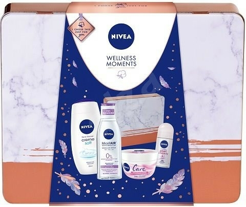Set - Nivea Wellness Moments (sh/gel/250ml+mic/water/200ml+deo/50ml+cream/50ml) — Imagine N1