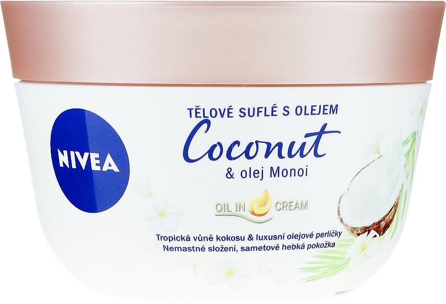 Souffle pentru corp - Nivea Body Souffle Coconut & Monoi Oil
