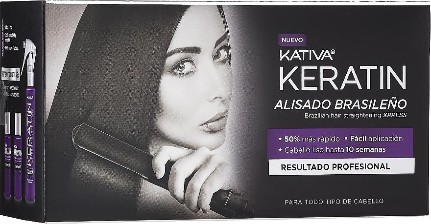 Set - Kativa Keratin (shm/35ml + cond/35ml + mask/100ml)