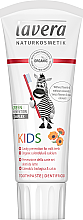 Parfumuri și produse cosmetice Pastă de dinți, fără fluor, pentru copii - Lavera Kids Toothpaste Organic Calendula and Calcium Fluoride
