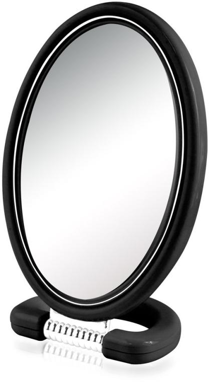 Oglindă cosmetică 9510, ovală, 22.5 cm, neagră - Donegal Mirror — Imagine N1
