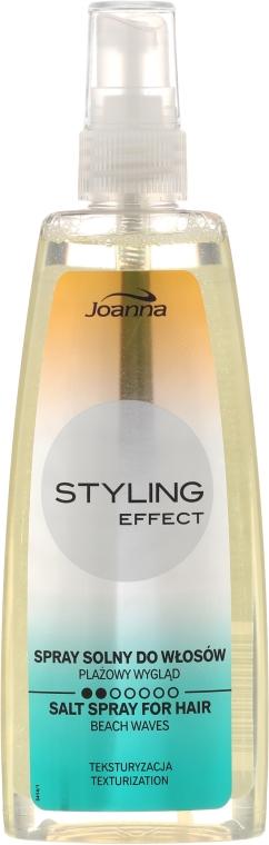 Spray cu sare pentru bucle - Joanna Styling Effect Fluorescent Line Texturizing Salt Spray