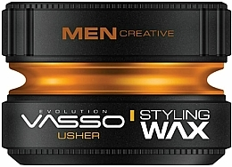 Parfumuri și produse cosmetice Ceară pentru păr - Vasso Professional Hair Styling Wax Usher