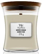 Parfumuri și produse cosmetice Lumânare aromată - WoodWick Hourglass Candle Smoked Jasmine