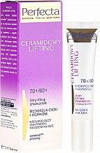 Parfumuri și produse cosmetice Cremă pentru pleoape - Perfecta Ceramid Lift 70+/80+ Eye Cream