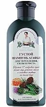 Parfumuri și produse cosmetice Șampon dens pentru rezistență și creștere- Agafia - Reţete bunicii Agafia