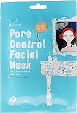 Mască de țesut pentru față - Cettua Pore Control Facial Mask — Imagine N1