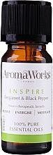 Parfumuri și produse cosmetice Amestec de uleiuri esențiale - AromaWorks Inspire Essential Oil