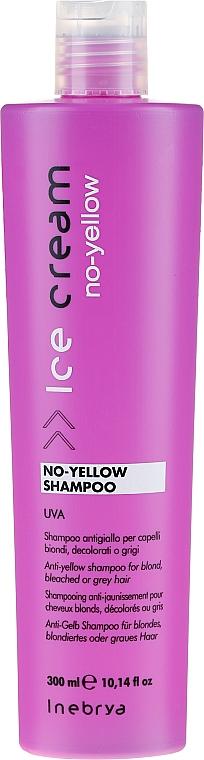 Șampon pentru păr blond - Inebrya Ice Cream No-Yellow Shampoo