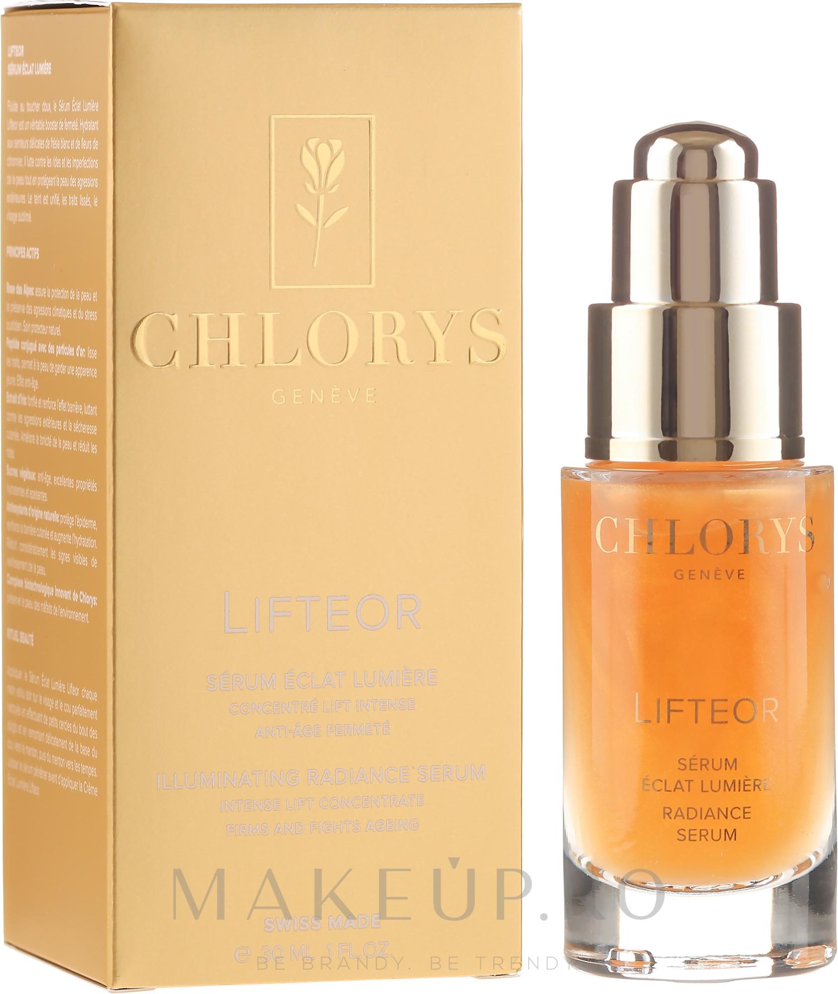 Ser facial - Chlorys Lifteor Radiance Serum — Imagine 30 ml