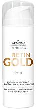 Parfumuri și produse cosmetice Cremă-Iluminator pentru față - Farmona Retin Gold Smoothing & Illuminating Anti-Ageing Cream