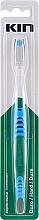 Parfumuri și produse cosmetice Periuță de dinți, dură, albastră - Kin Hard Toothbrush