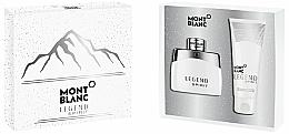 Parfumuri și produse cosmetice Montblanc Legend Spirit - Set (edt/50ml + sh/gel/100ml)