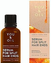 Parfumuri și produse cosmetice Ser pentru păr - You & Oil Amber. Serum For Split Hair Ends