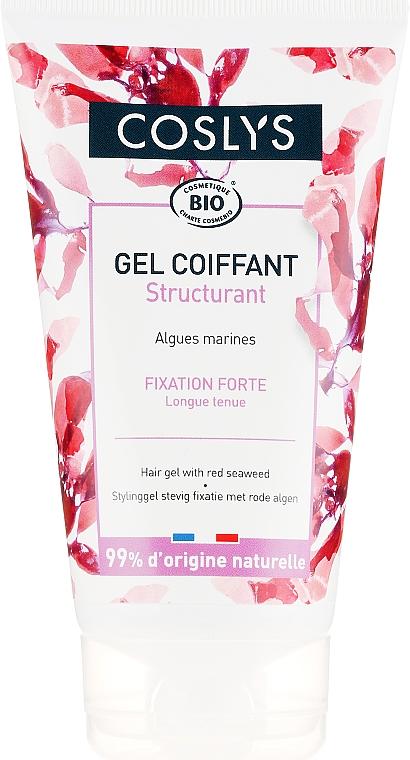 Gel cu fixație puternică pentru păr - Coslys Hair Care Styling GelWith Organic Red Seaweed — Imagine N1