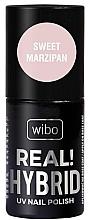 Parfumuri și produse cosmetice Gel lac de unghii - Wibo Hybrid Real Hybrid UV Nail Polish