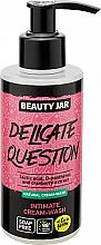 Parfumuri și produse cosmetice Gel pentru igiena intimă - Beauty Jar Delicate Question Intimate Cream-Wash