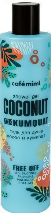 Gel de duș - Cafe Mimi Shower Gel Coconut And Kumquat