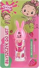 Parfumuri și produse cosmetice Balsam de buze, aromă de căpșuni - Chlapu Chlap Bella Balerina Strawberry Lip Balm