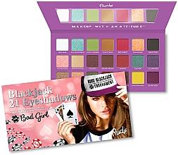 Parfumuri și produse cosmetice Paletă farduri de ochi - Rude Blackjack Eyeshadow Palette