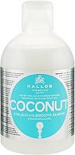Parfumuri și produse cosmetice Șampon regenerant cu ulei de cocos - Kallos Cosmetics Coconut Shampoo