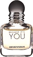 Parfumuri și produse cosmetice Giorgio Armani Because It's You - Apă de parfum (mini)