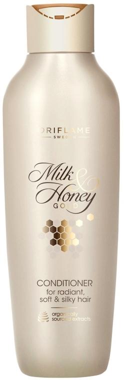 """Balsam de păr """"Lapte și miere. Seria de aur"""" - Oriflame Milk & Honey Gold Hair Conditioner — Imagine N1"""