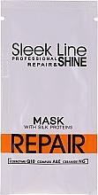 Parfumuri și produse cosmetice Mască de păr - Stapiz Sleek Line Repair Hair Mask (mostră)