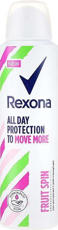 Antiperspirant spray - Rexona Fruit Spin Antiperspirant Deodorant Spray