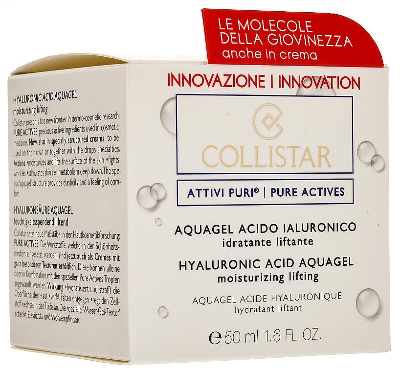 Gel hidratant cu acid hialuronic pentru față - Collistar Pure Actives Moisturizing Acid Aquagel — Imagine N1