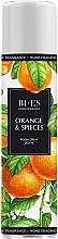 """Parfumuri și produse cosmetice Odorizant de aer """"Orange & Spieces"""" - Bi-Es Home Fragrance Orange & Spieces Room Spray"""