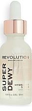 Parfumuri și produse cosmetice Ser cu glucozamină pentru față - Revolution Skincare Superdewy Hydrating Serum