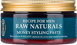 Parfumuri și produse cosmetice Pastă pentru păr - Recipe For Men RAW Naturals Money Styling Paste