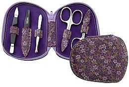 Parfumuri și produse cosmetice Set de manichiură pentru unghii - DuKaS Premium Line Manicure set 5-piece PL 111FFK