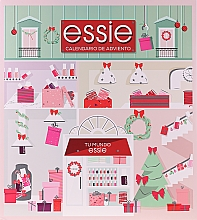 """Parfumuri și produse cosmetice Set """"Advent Calendar"""" - Essie Advent Calendar"""